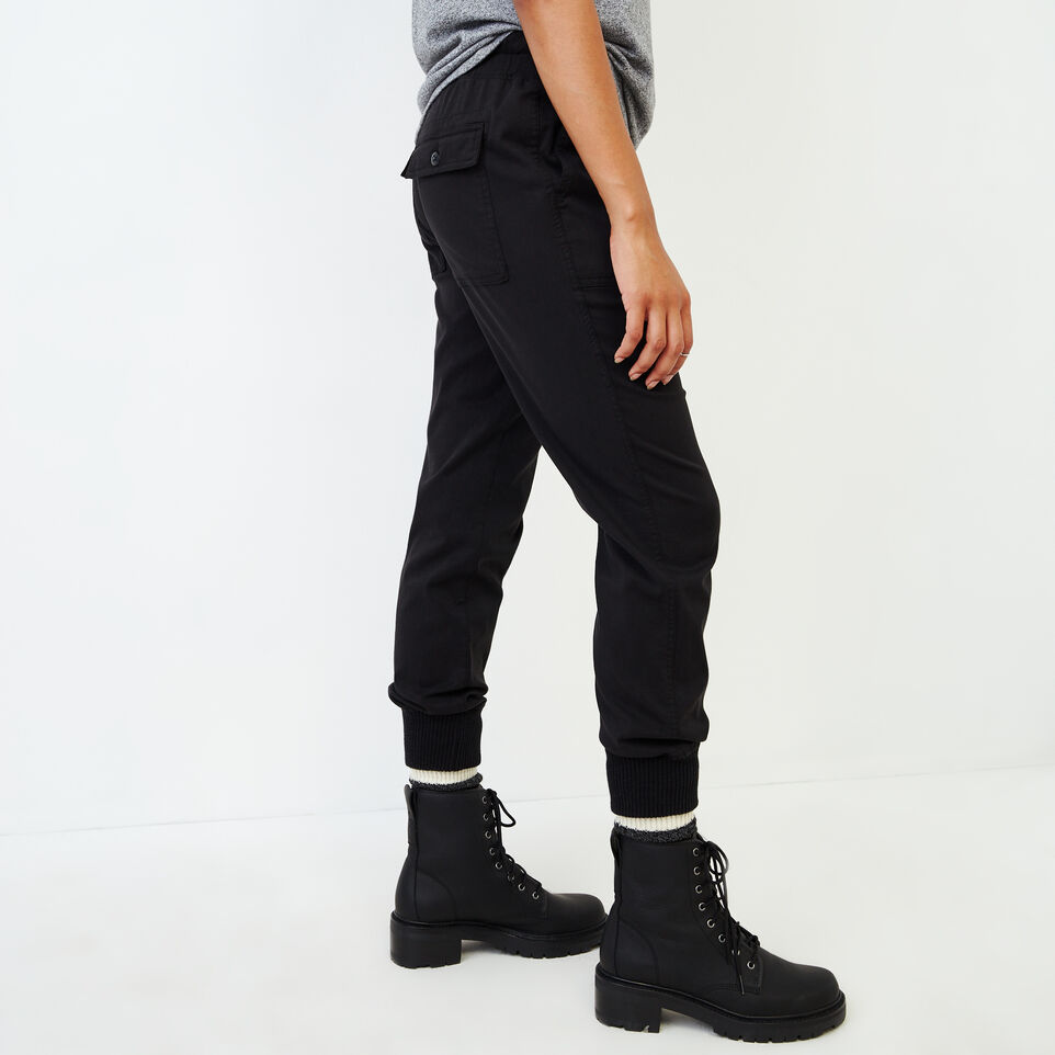 Roots-Women Our Favourite New Arrivals-Essential Jogger-Black-C
