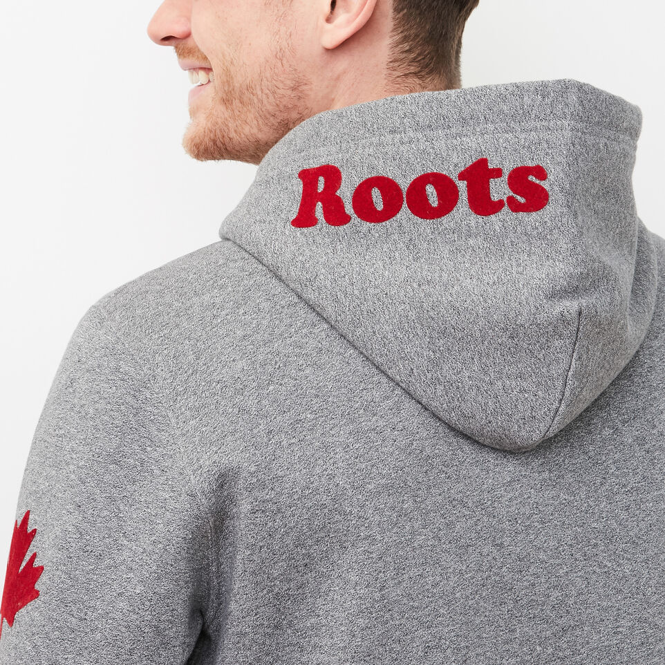 Roots-undefined-Mens Cooper Canada Full Zip Hoody-undefined-F