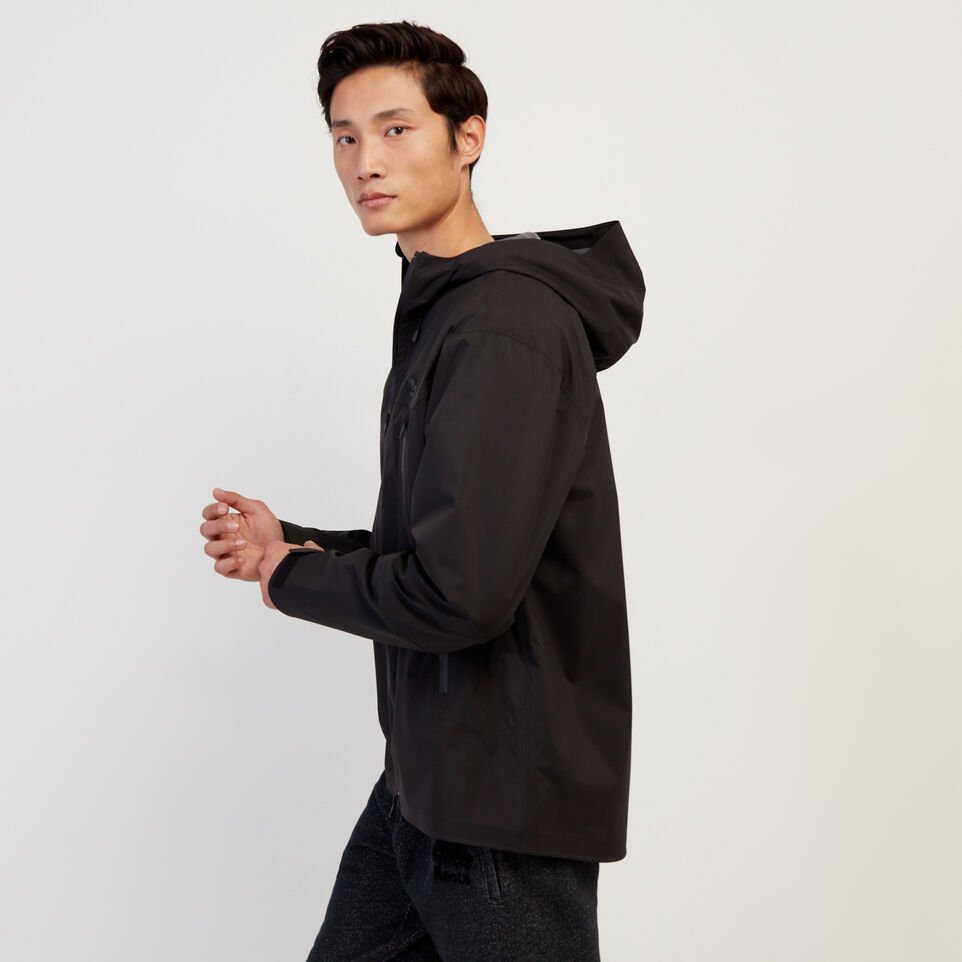 Roots-New For February Journey Collection-Journey Rain Jacket-Black-C