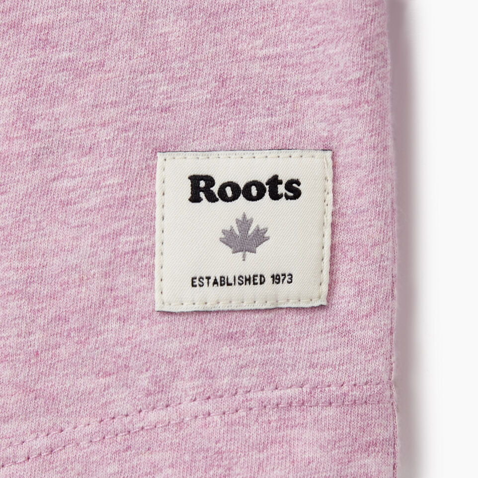 Roots-New For August Women-Womens Baseball Slim T-shirt-Orchid Bouquet Ppr-C
