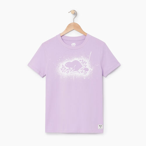 Roots-Women Our Favourite New Arrivals-Womens Cooper Outline T-shirt-Lavendula-A