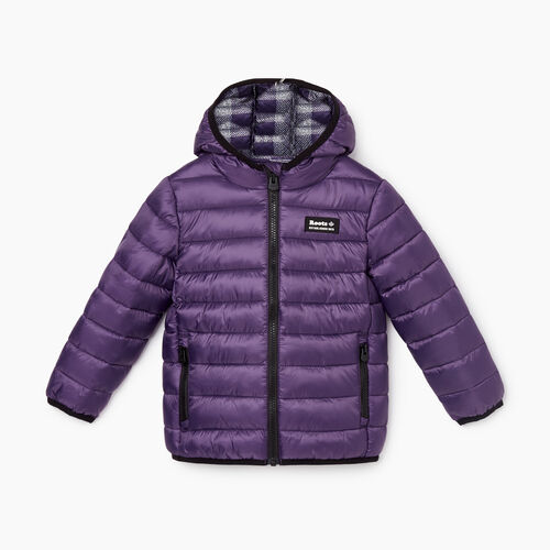 Roots-Kids Toddler Girls-Toddler Roots Puffer Jacket-Loganberry-A