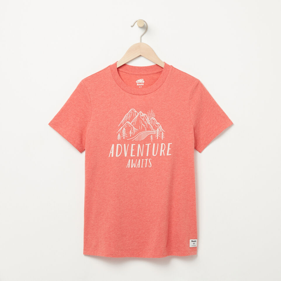 Roots-undefined-Womens Wild Adventure T-shirt-undefined-A