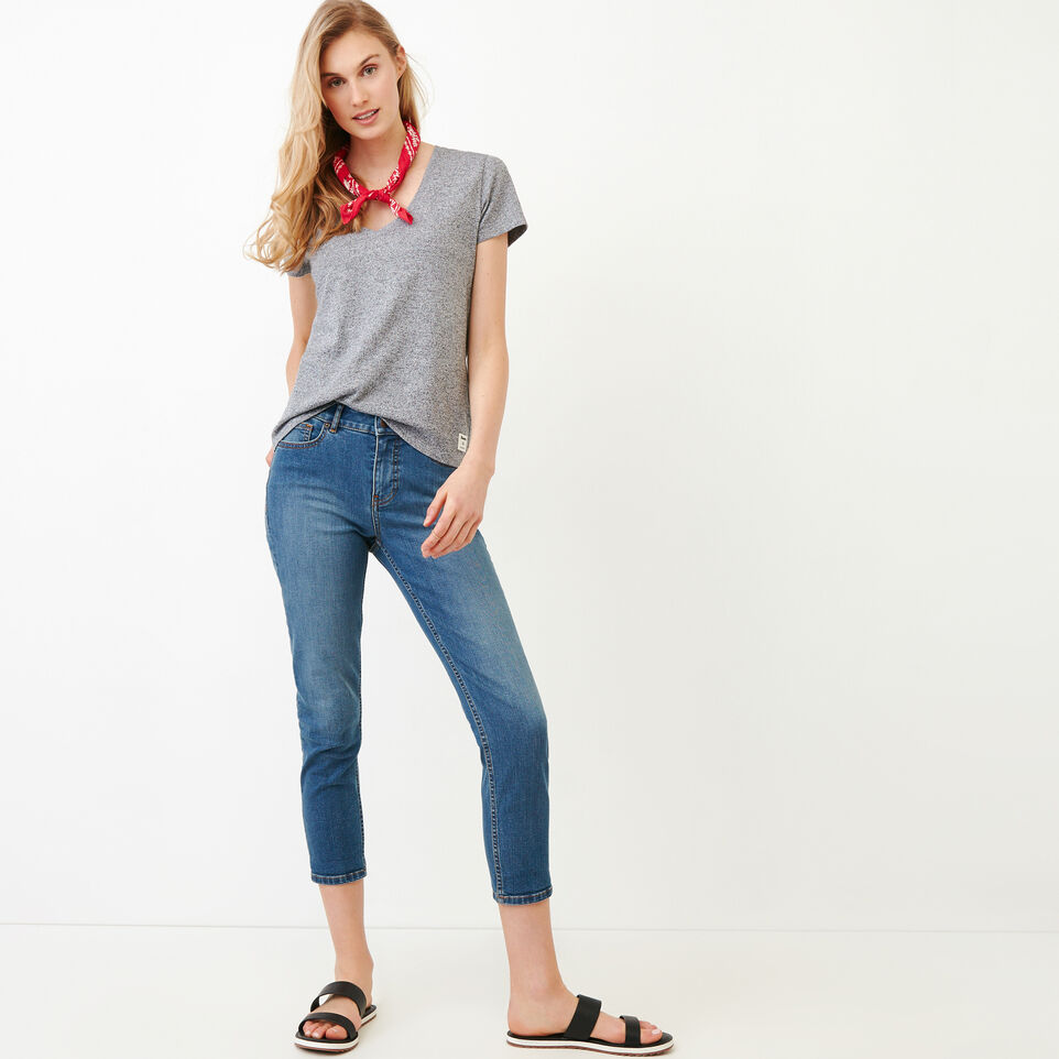 Roots-undefined-Pepper V Neck T-shirt-undefined-B