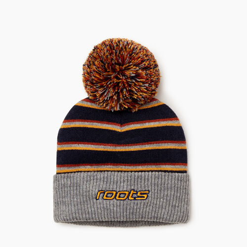 Roots-Kids Our Favourite New Arrivals-Toddler Speedy Pom Pom Toque-Navy-A