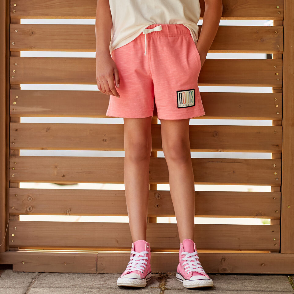 Roots-undefined-Girls Camp Patch Short-undefined-A