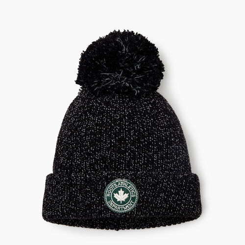 Roots-Kids Accessories-Kids Snowy Fox Toque-Black Fox-A