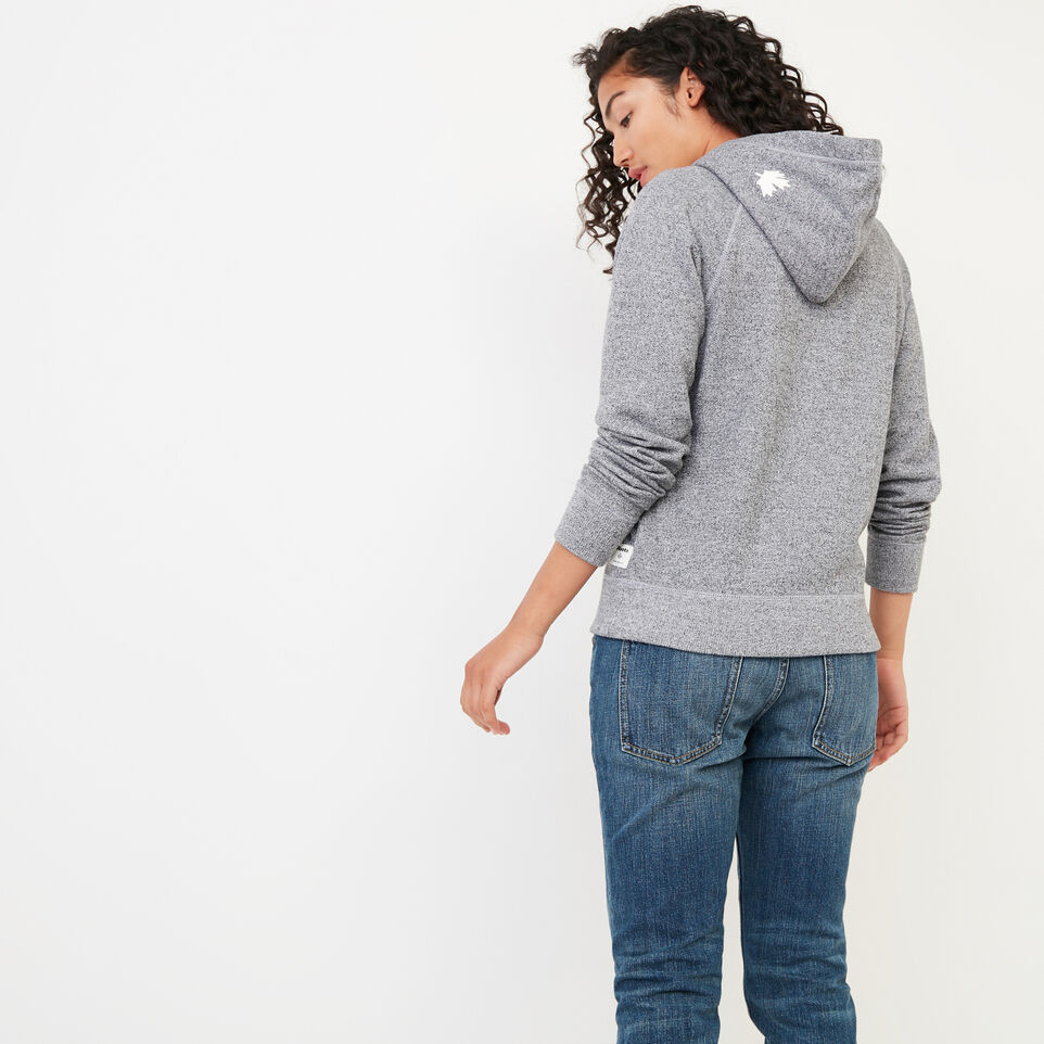 Roots-Women New Arrivals-Roots Salt and Pepper Kanga Hoody-Salt & Pepper-D