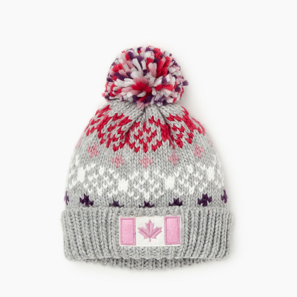Roots-undefined-Kids Retro Fair Isle Toque-undefined-A
