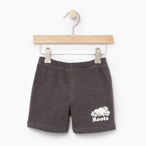 Roots-Clearance Toddler-Toddler Original Short-Charcoal Mix-A