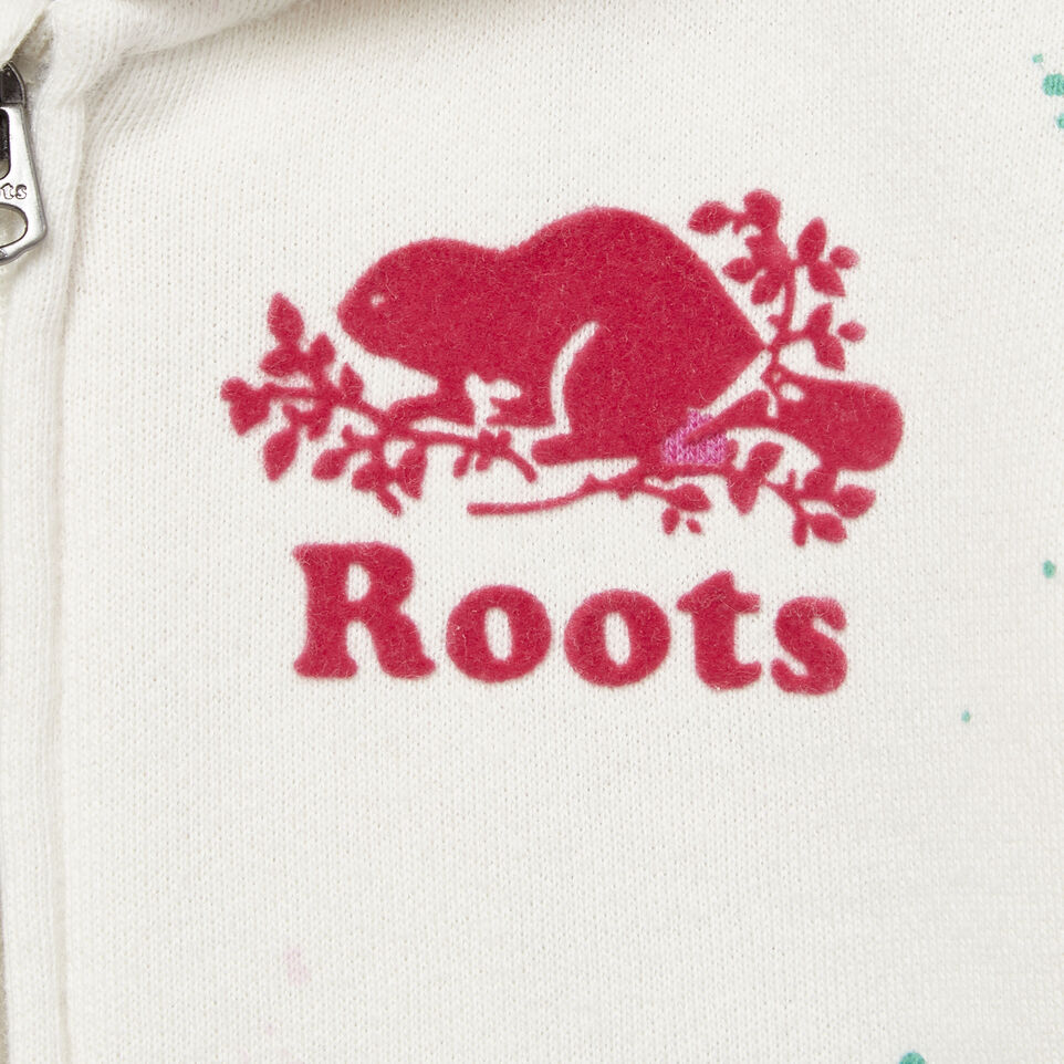 Roots-undefined-Baby Splatter Full Zip Hoody-undefined-D