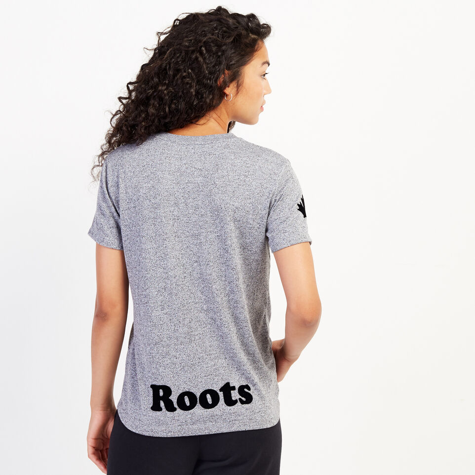 Roots-undefined-Womens Remix T-shirt-undefined-D