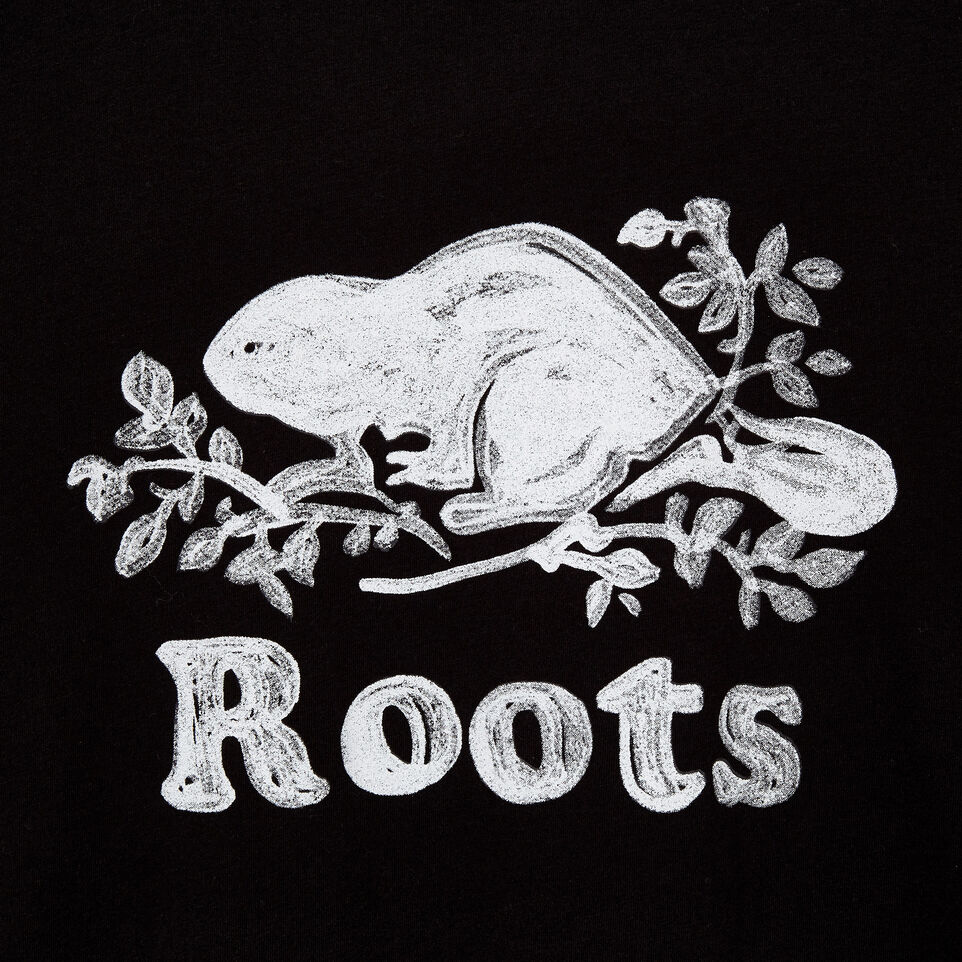 Roots-Men New Arrivals-Mens Springdale T-shirt-Black-D