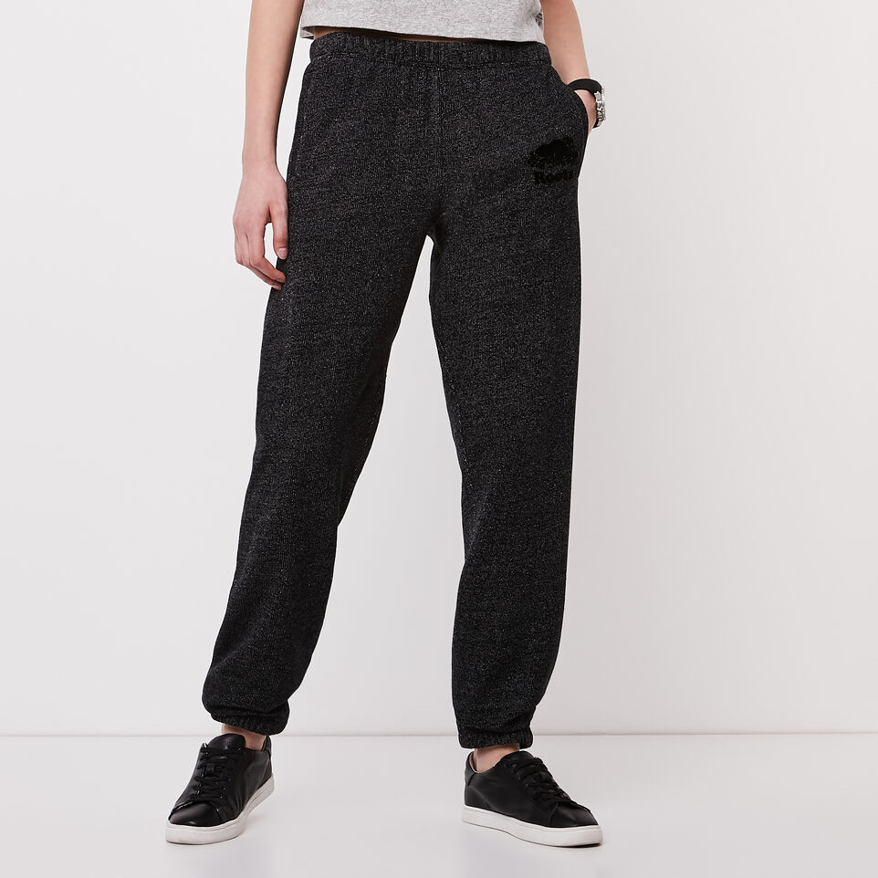 Roots-undefined-Roots Black Pepper Boyfriend Sweatpant-undefined-B