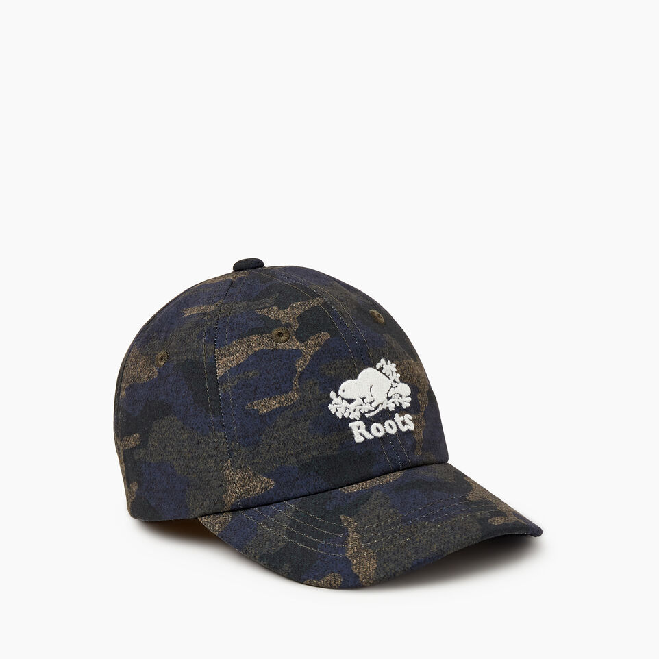 Roots-undefined-Toddler Camo Baseball Cap-undefined-A