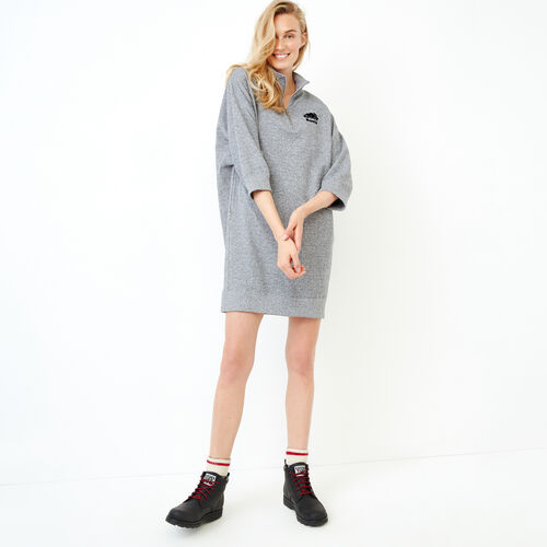 Roots-Women Our Favourite New Arrivals-Roots Salt and Pepper Stein Dress-Salt & Pepper-A