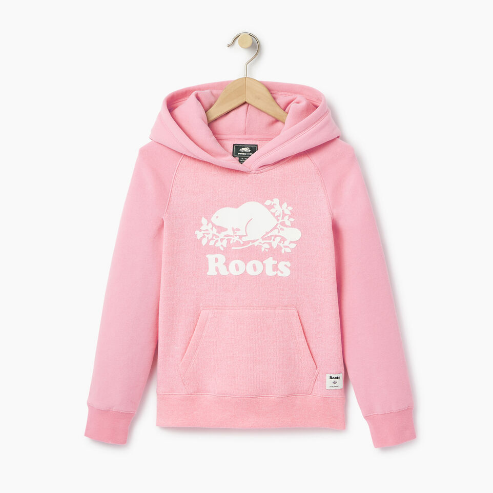 Roots-Clearance Kids-Girls Original Kanga Hoody-Pastl Lavender Pper-A