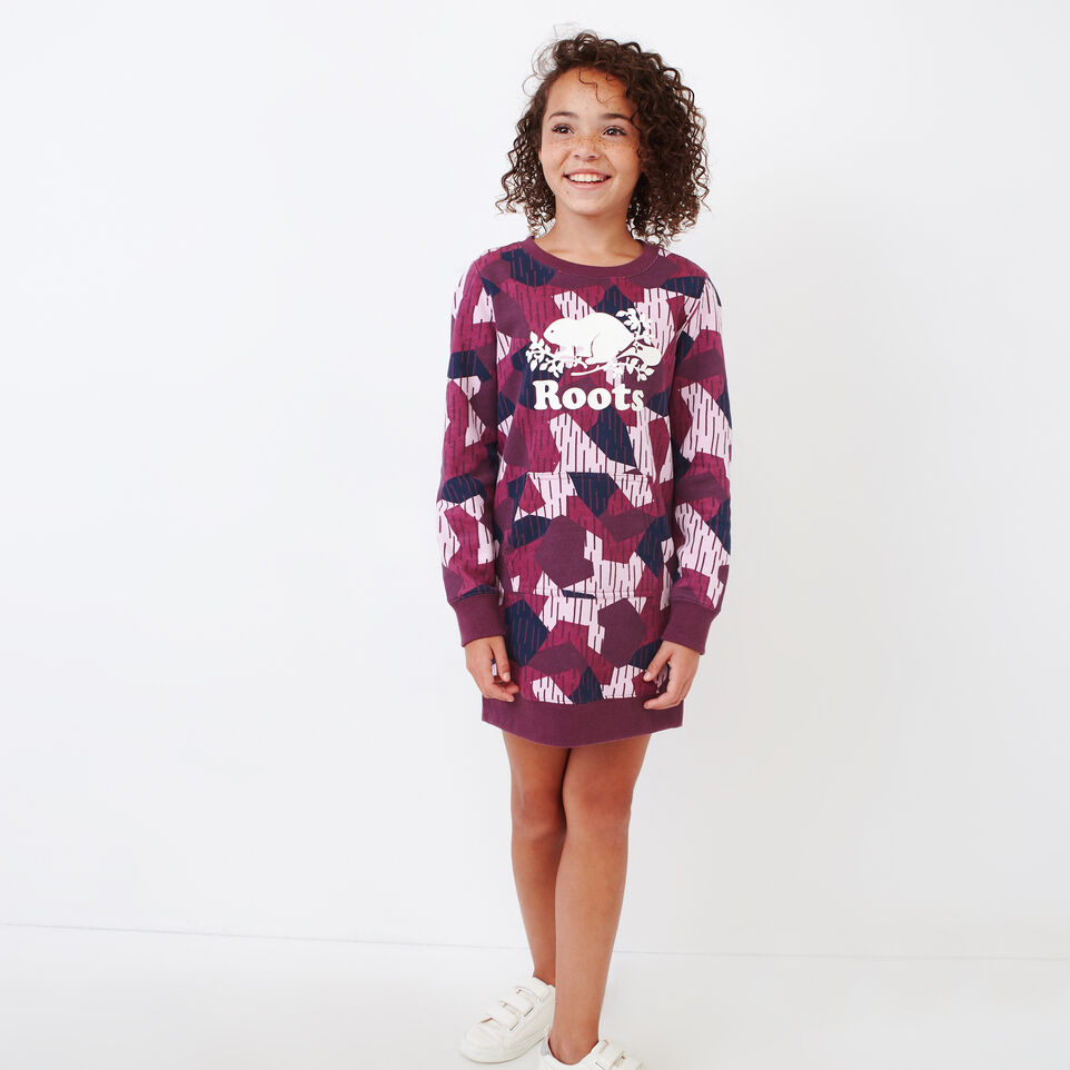 Roots-Kids Our Favourite New Arrivals-Girls Camo Dress-Camo Print-A