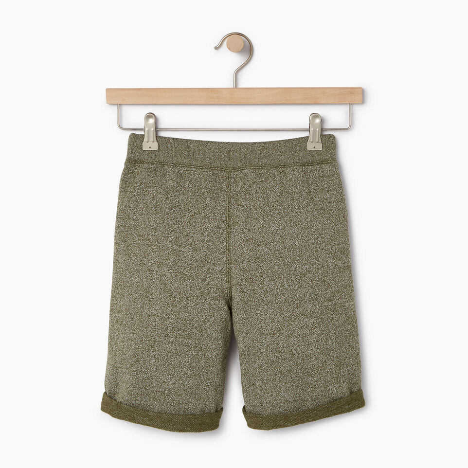 Roots-Kids Boys-Boys Park Short-Winter Moss Pepper-B