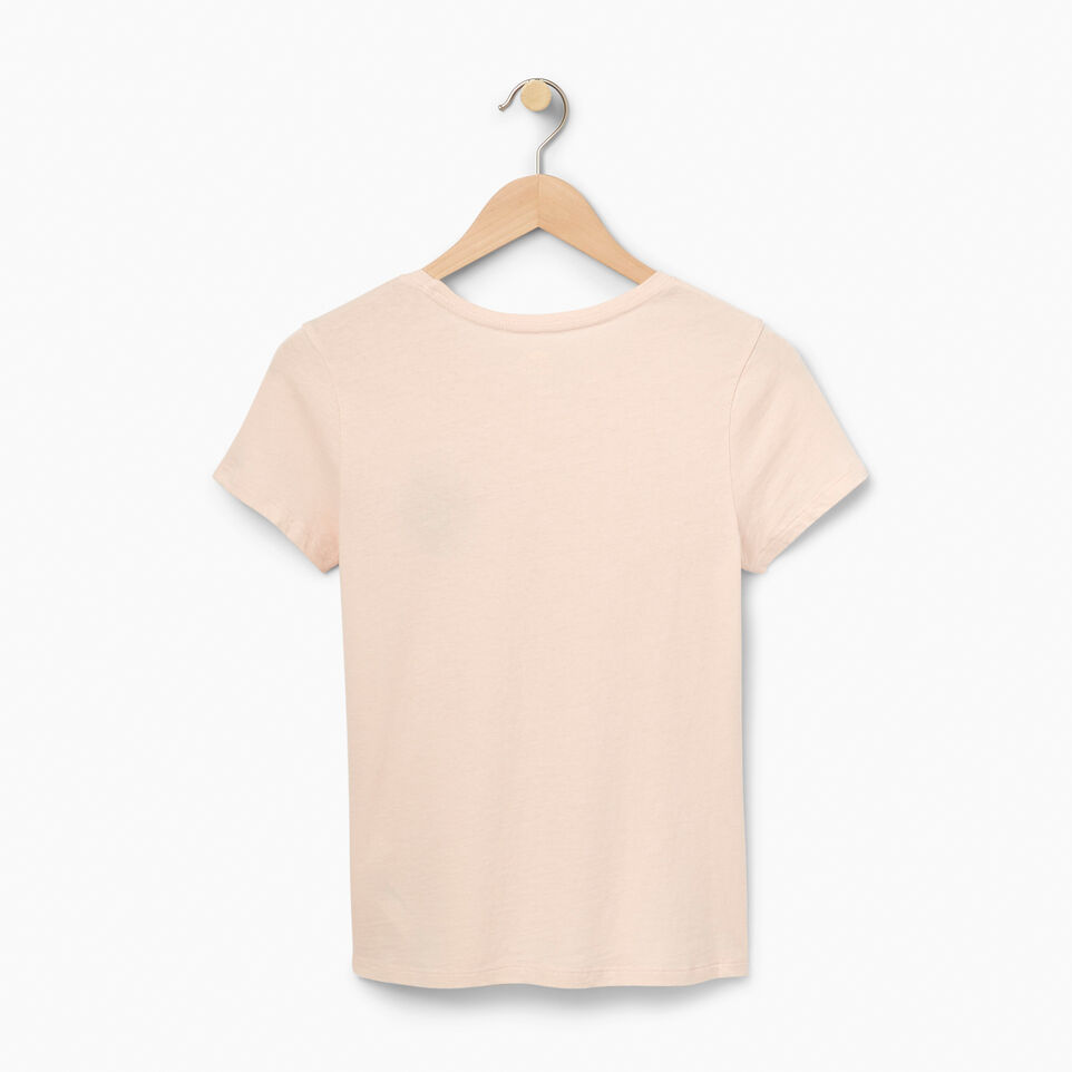 Roots-undefined-Womens Buddy Beaver  Slim T-shirt-undefined-B