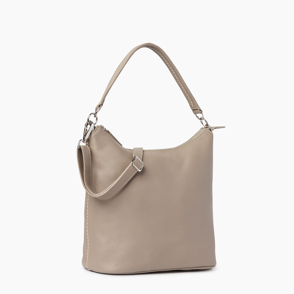 Roots-Leather Our Favourite New Arrivals-Ella Bag-Flint Grey-A