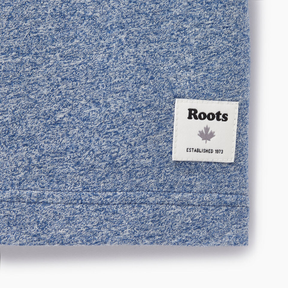 Roots-New For August Men-Mens Free Waves T-shirt-Cascade Blue Pepper-C