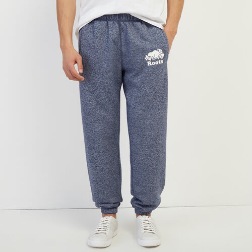 Roots-Men Bestsellers-Original Sweatpant-Cascade Blue Pepper-A