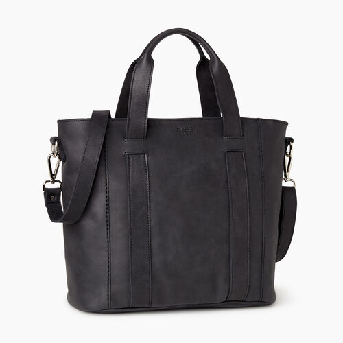 Roots-Leather  Handcrafted By Us Our Favourite New Arrivals-Victoria Tote-Jet Black-A