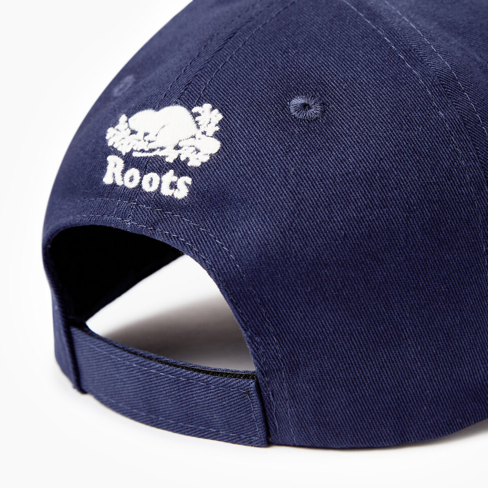 Roots-Kids Our Favourite New Arrivals-Kids Canada Baseball Cap-Navy-E
