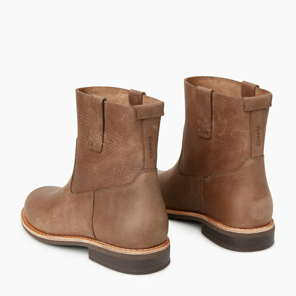 Roots-Women Categories-Womens Riverdale Shorty Boot-Fawn-E