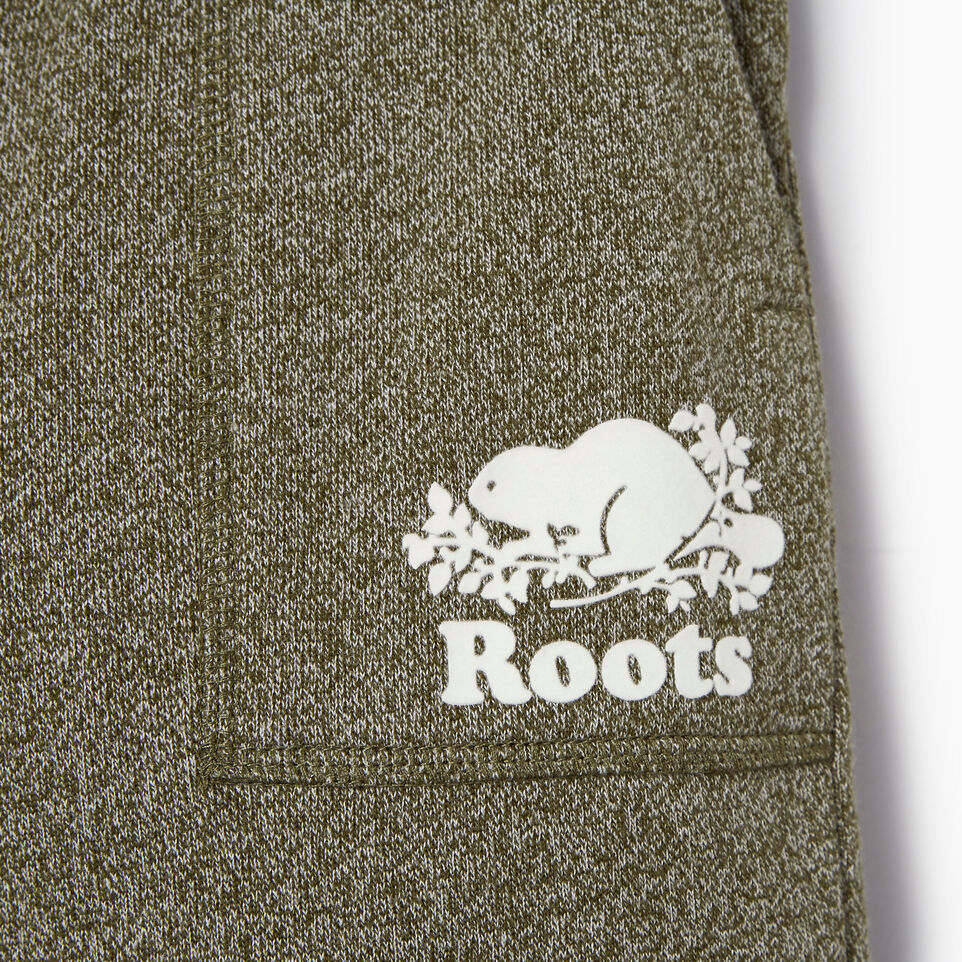Roots-Kids Boys-Boys Park Short-Winter Moss Pepper-D