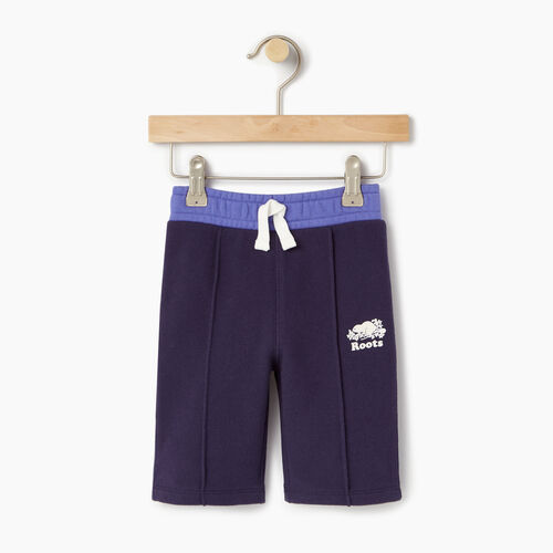 Roots-Clearance Kids-Baby Colour Block Sweatpant-Eclipse-A