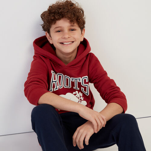 Roots-Sale Kids-Boys RBA Hoody-Rosewood-A