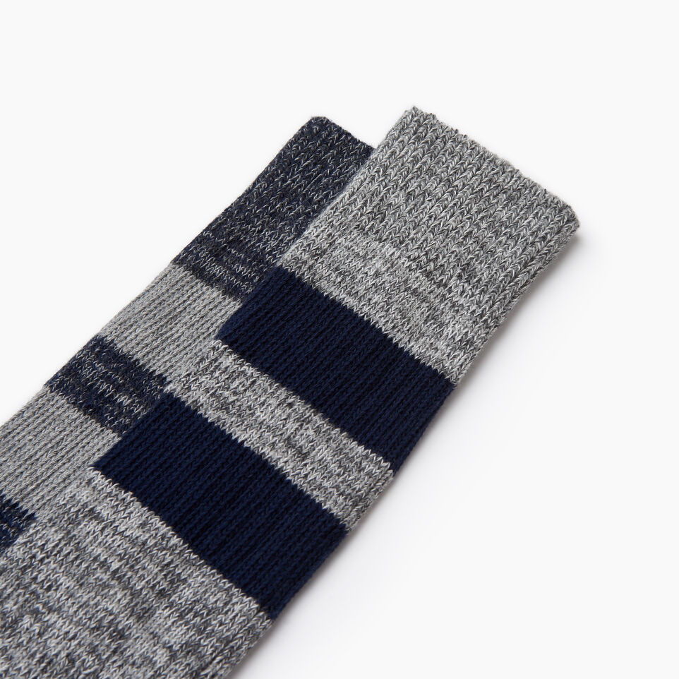 Roots-Men Our Favourite New Arrivals-Camp Sock 2 Pack-Navy-C