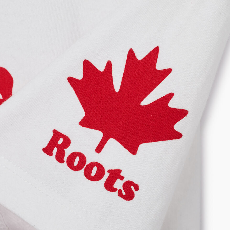 Roots-New For July Canada Collection By Roots™-Womens Cooper Canada T-shirt-Crisp White-E