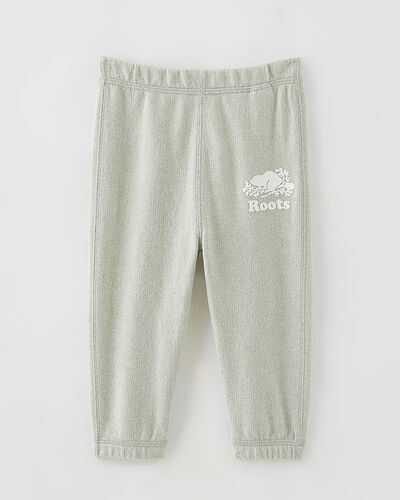 Roots-Kids Bottoms-Baby Original Roots Sweatpant-Desert Sage Pepper-A