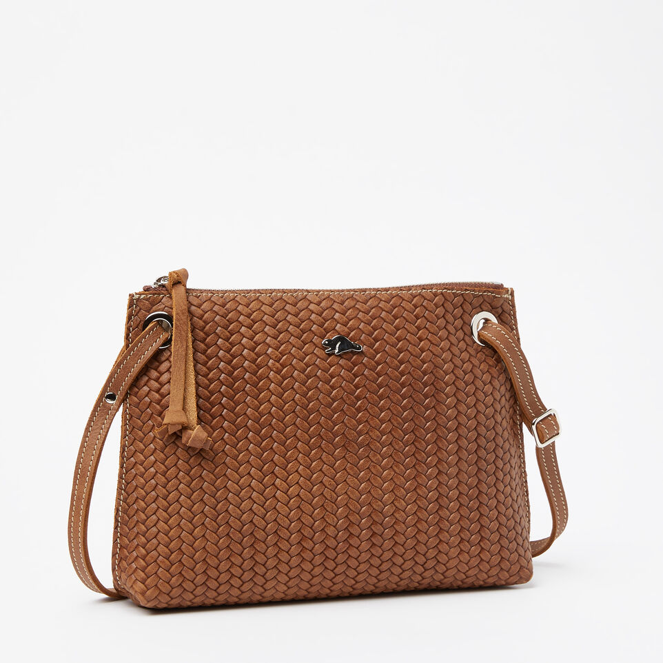 Roots-undefined-Sac Edie en cuir tressé Tribe-undefined-A