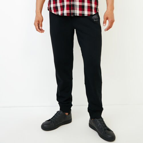 Roots-Men Our Favourite New Arrivals-Roots Breathe Slim Sweat Pant-Black-A