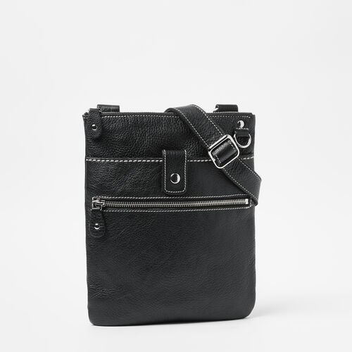 Roots-Leather Bestsellers-Small Venetian Prince-Black-A