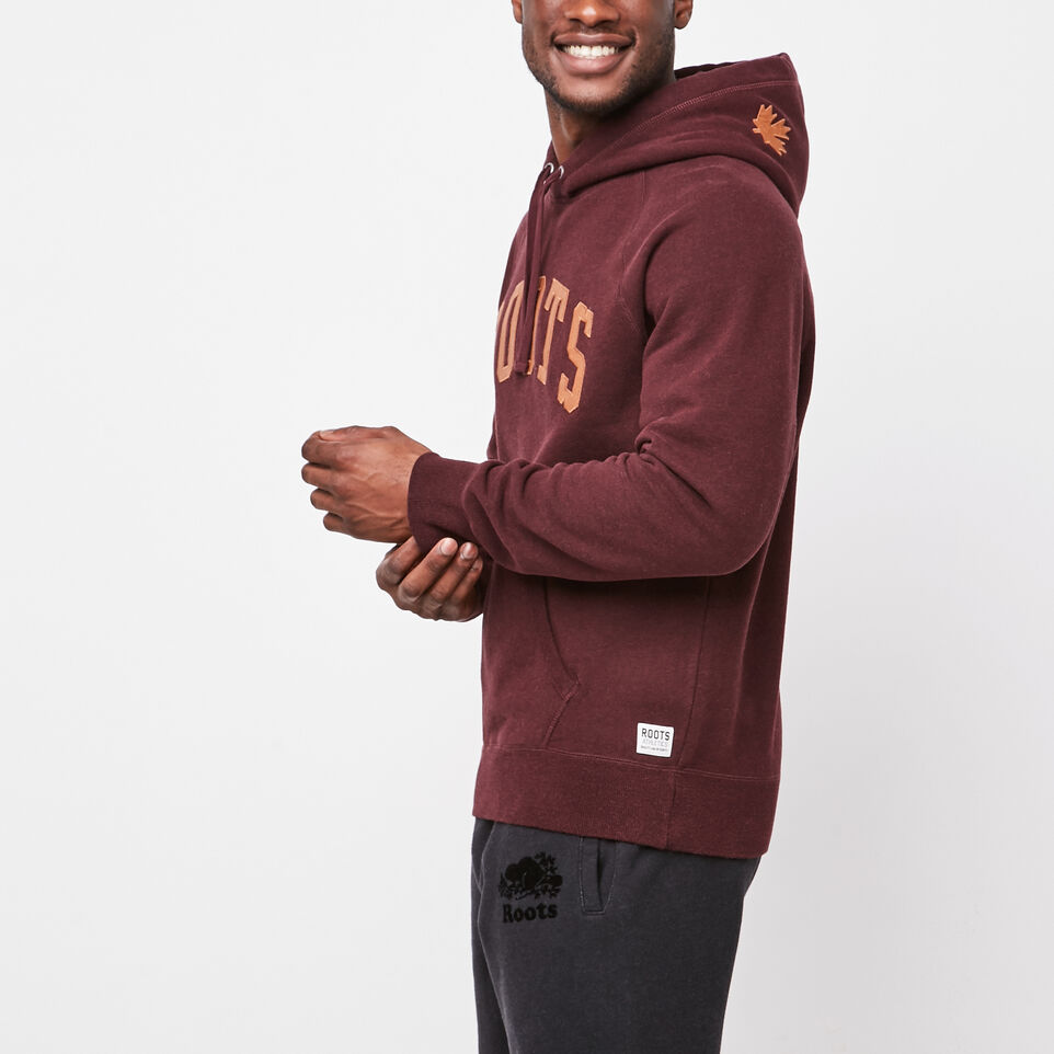 Roots-undefined-Original Leather Logo Hoody-undefined-B