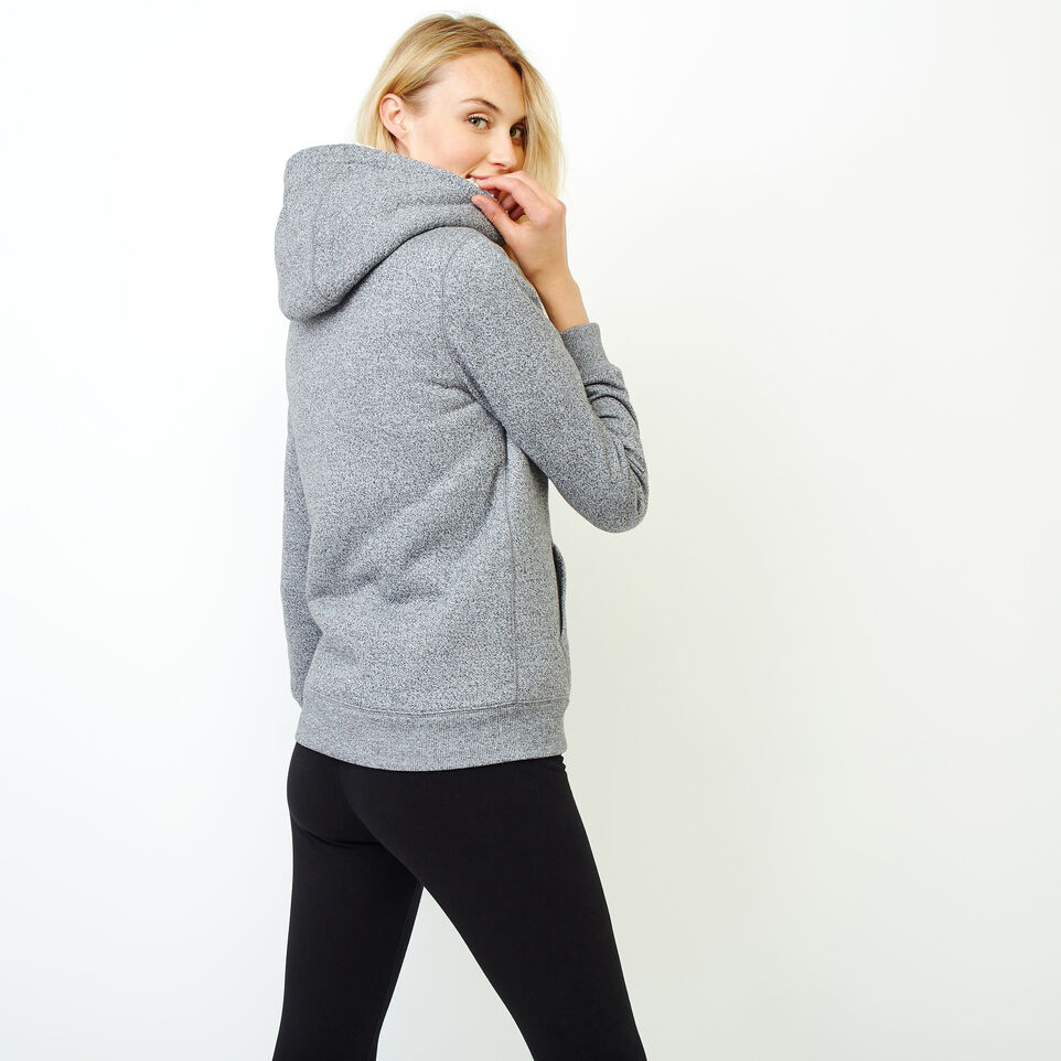 Roots-Women Clothing-Sherpa-lined Hoody-Salt & Pepper-D