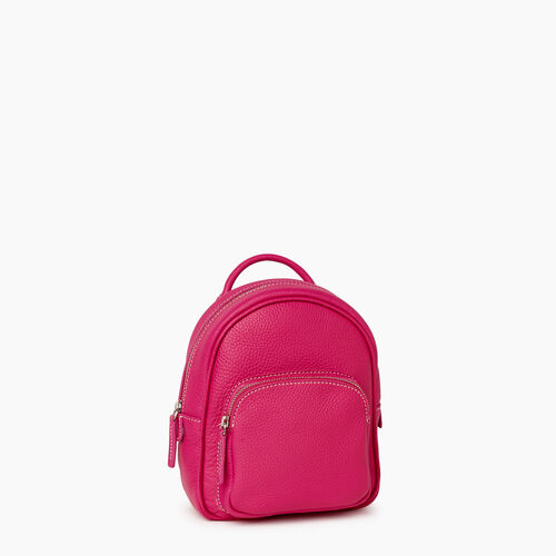 Roots-Leather City Bags-City Chelsea Pack Parisian-Fuchsia-A