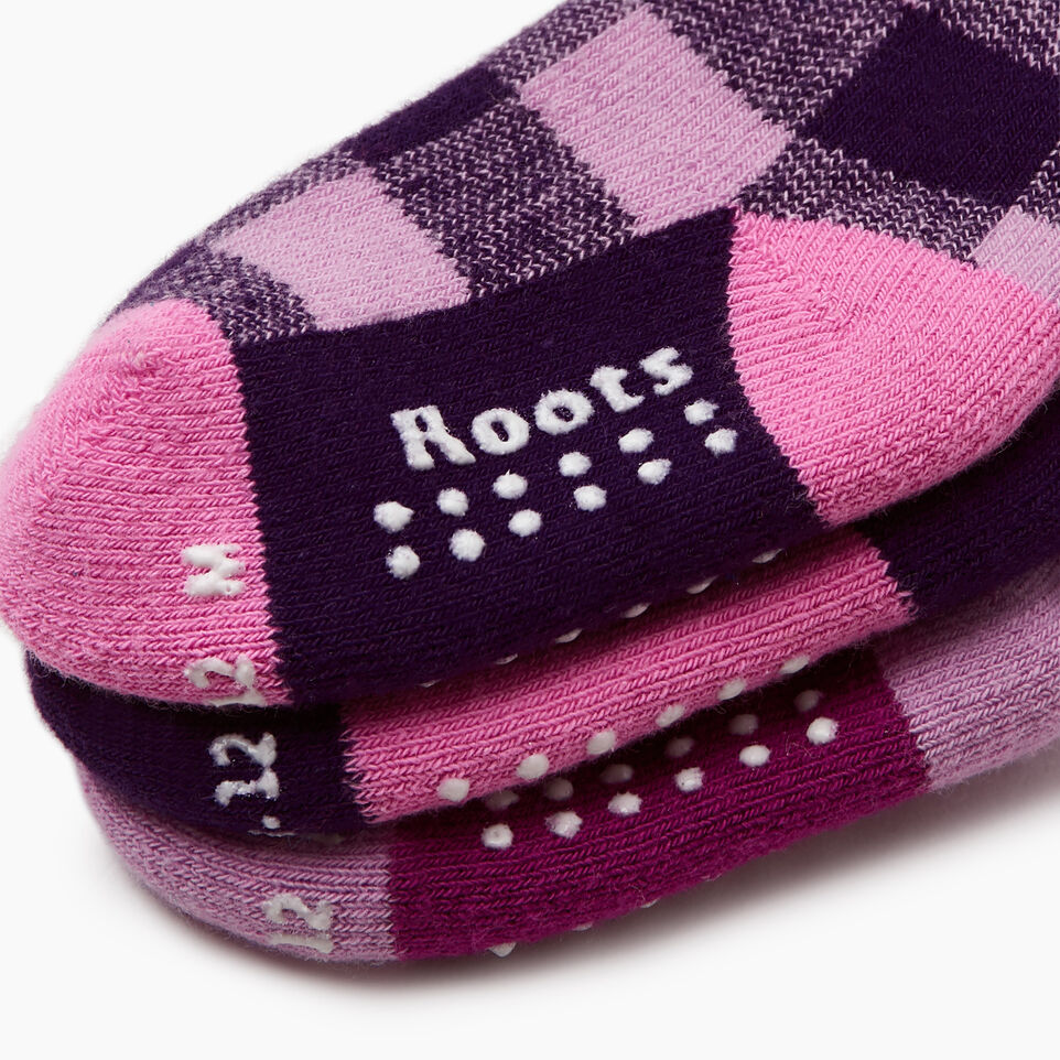 Roots-undefined-Toddler Plaid Sock 3 Pack-undefined-D