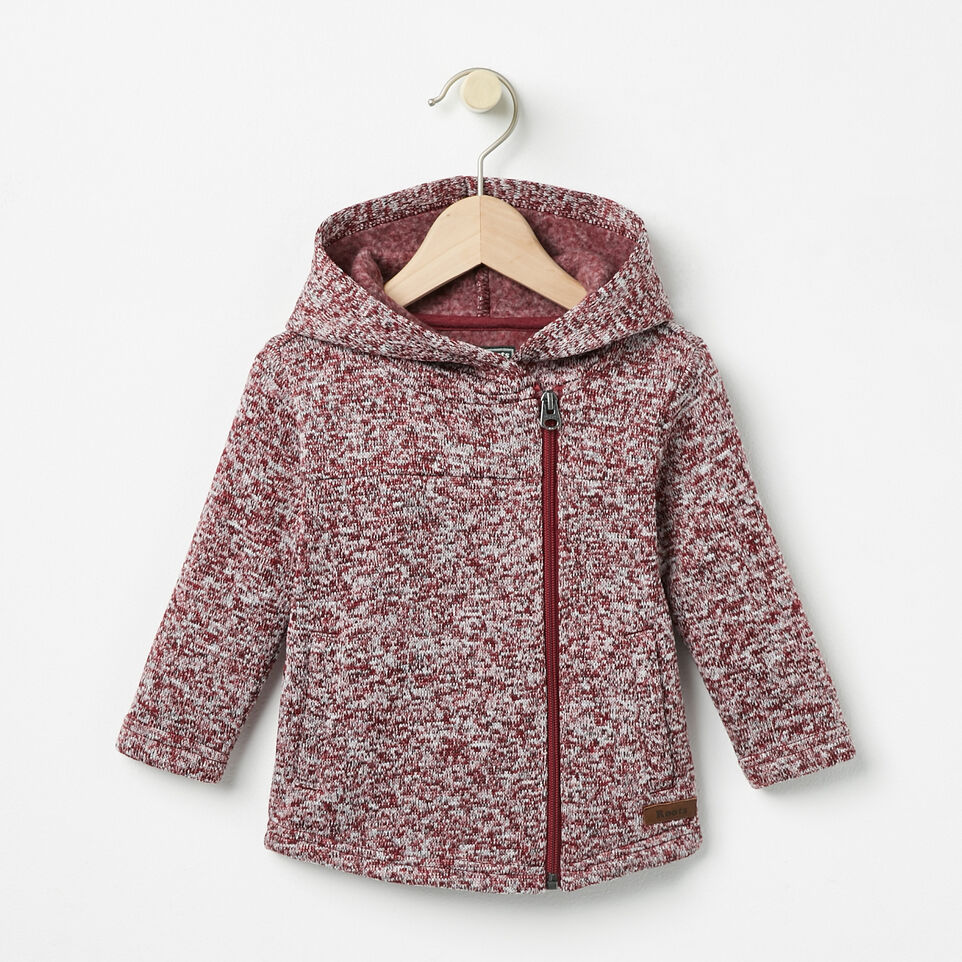 Roots-undefined-Baby Sweater Fleece Jacket-undefined-A