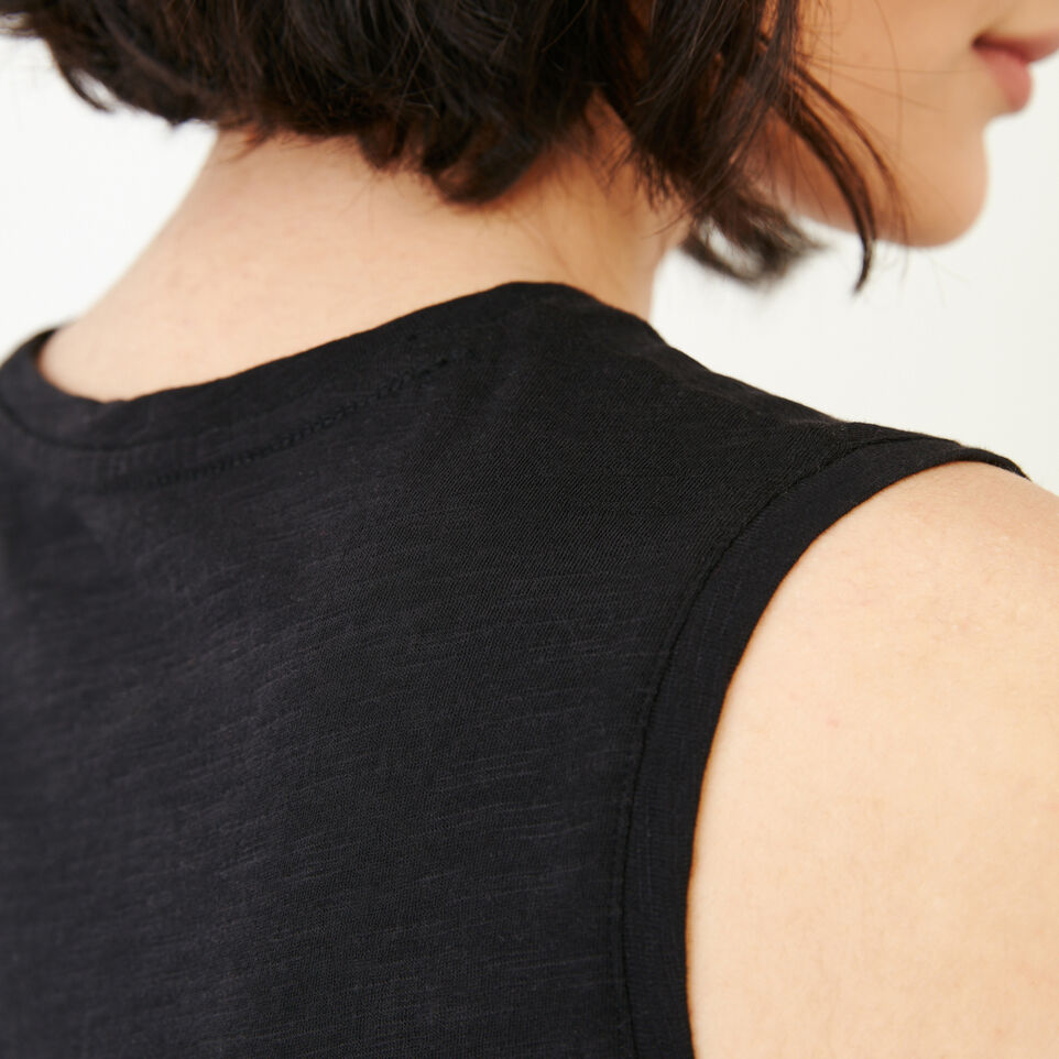 Roots-Women Our Favourite New Arrivals-Lorne Muscle Tank Top-Black-E
