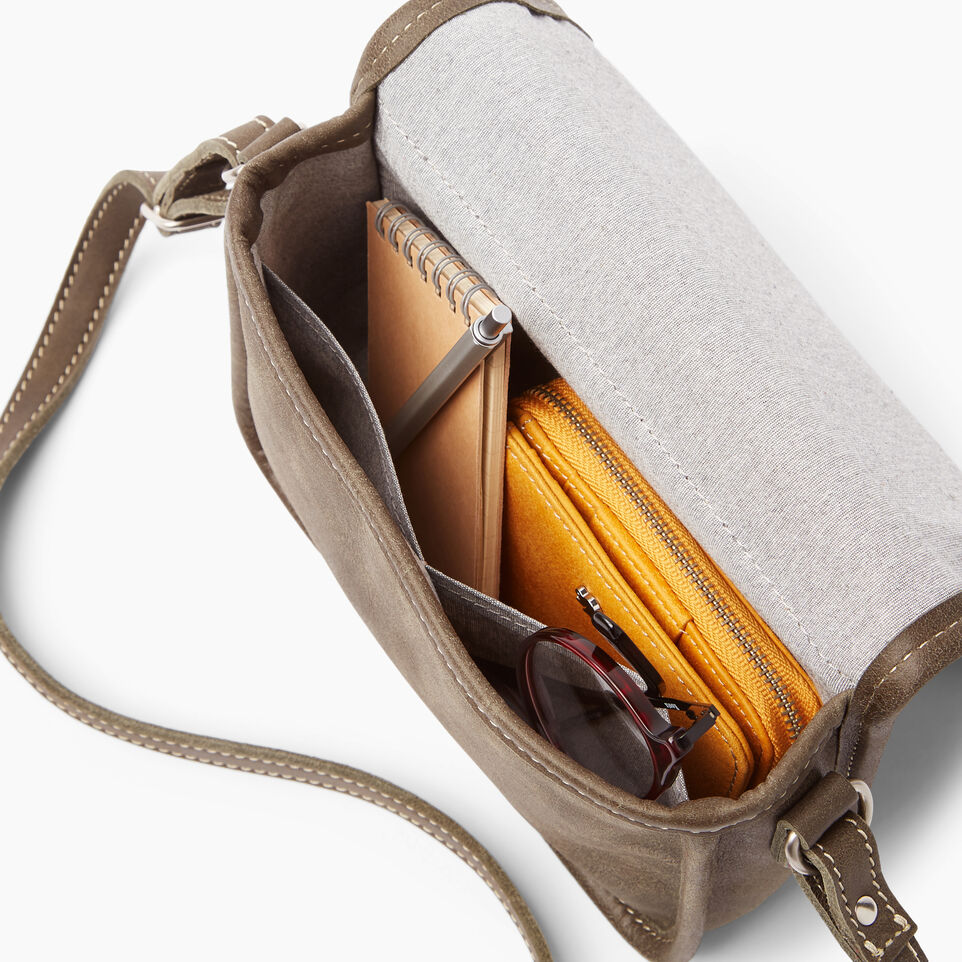 Roots-Leather  Handcrafted By Us Handbags-Angelina Bag Tribe-Pine-E