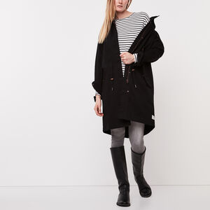 Roots-Women Jackets-Norquay Parka-Black-A