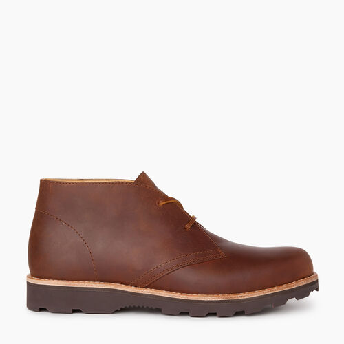 Roots-Footwear Men's Footwear-Mens Gibson Chukka Boot-Natural-A
