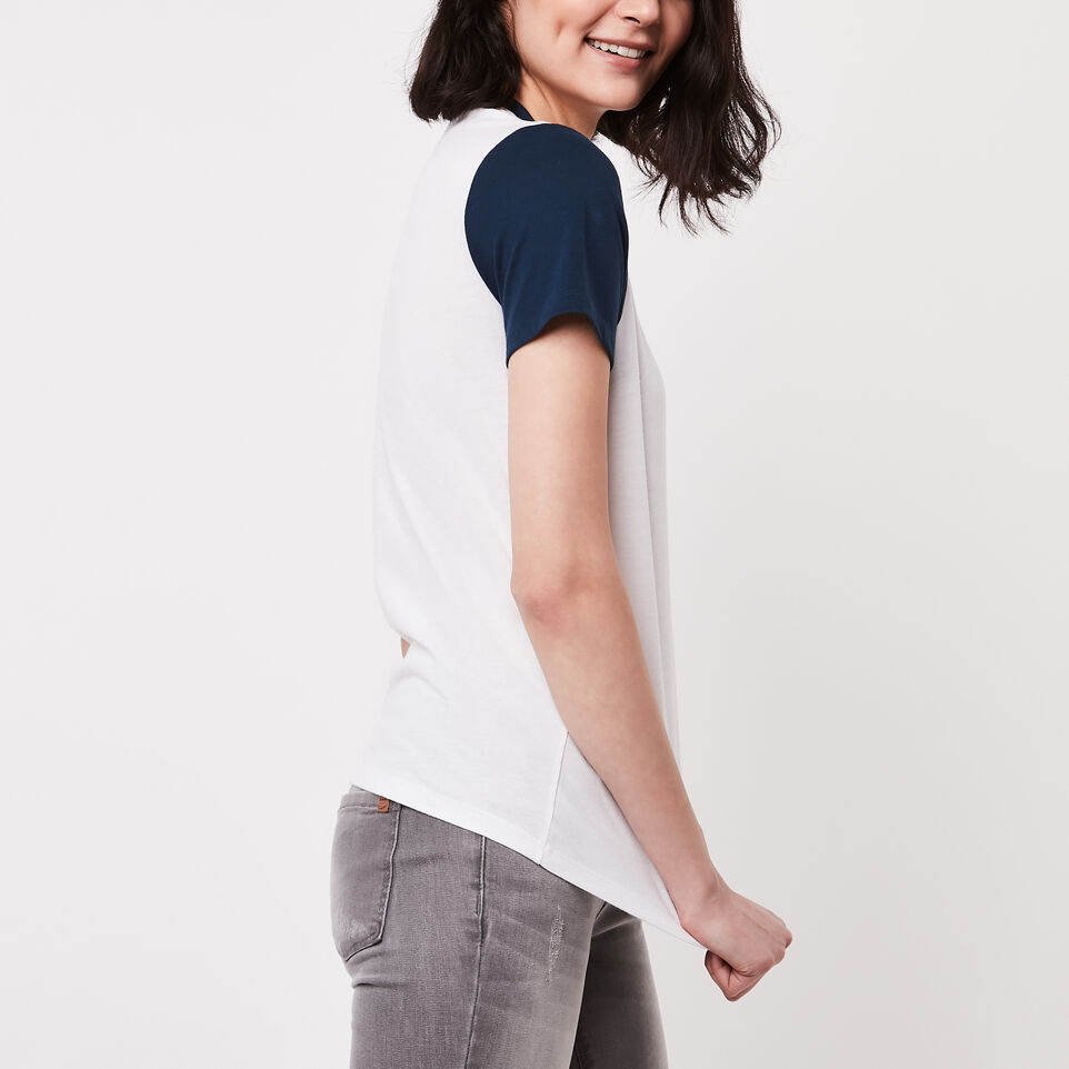 Roots-undefined-Colour Blocked T-shirt-undefined-B