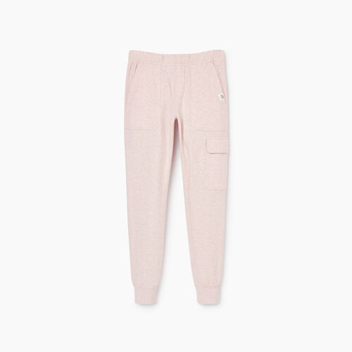 Roots-Sale Kids-Girls Slim Cuff Cargo Pant-Burnished Lilac Mix-A